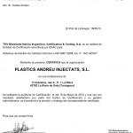 Esforç humà i econòmic fan possible la obtenció de la certificació de qualitat ISO 9001:2008