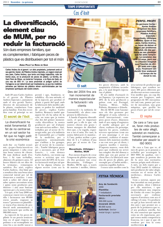 Entrevista a l'Indicador Economía Tarragona