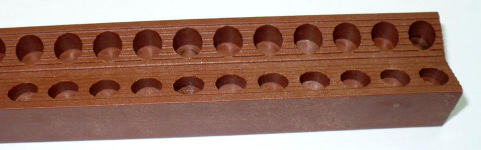Pieza de plastico de poliamida